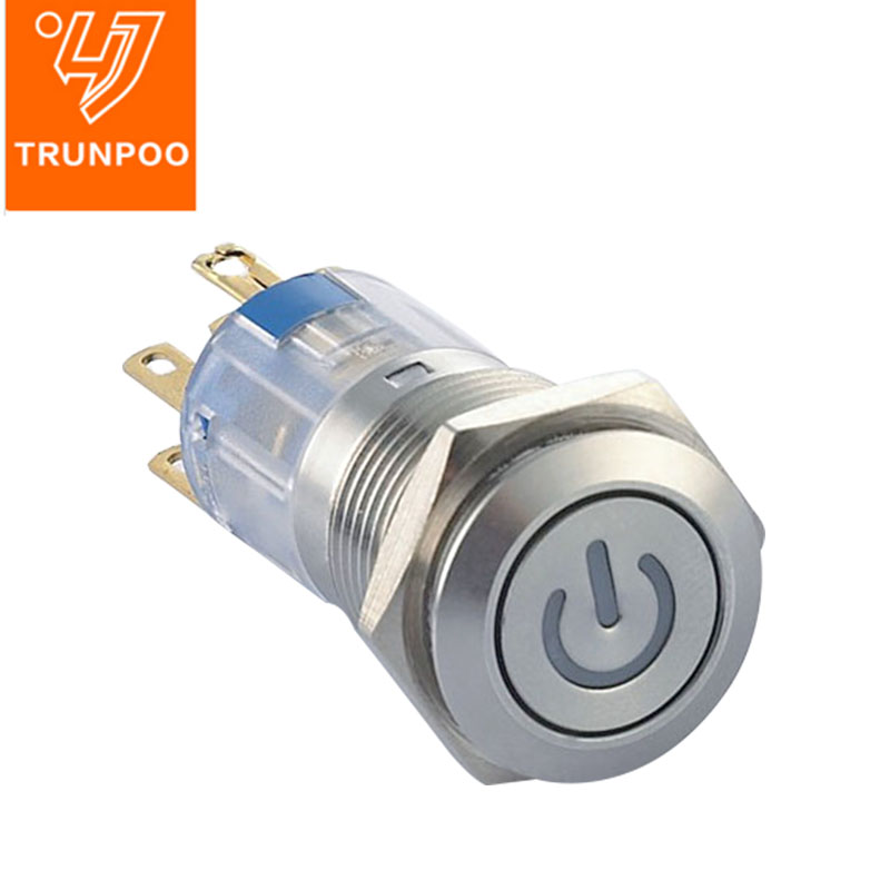 X16 LED Metal pushbutton switch