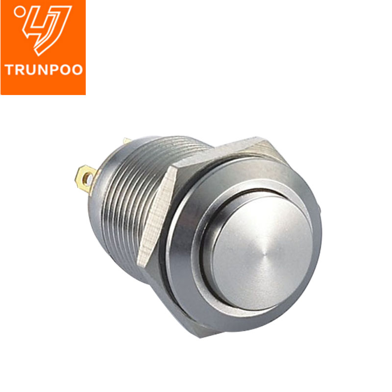 X12  Metal pushbutton switch