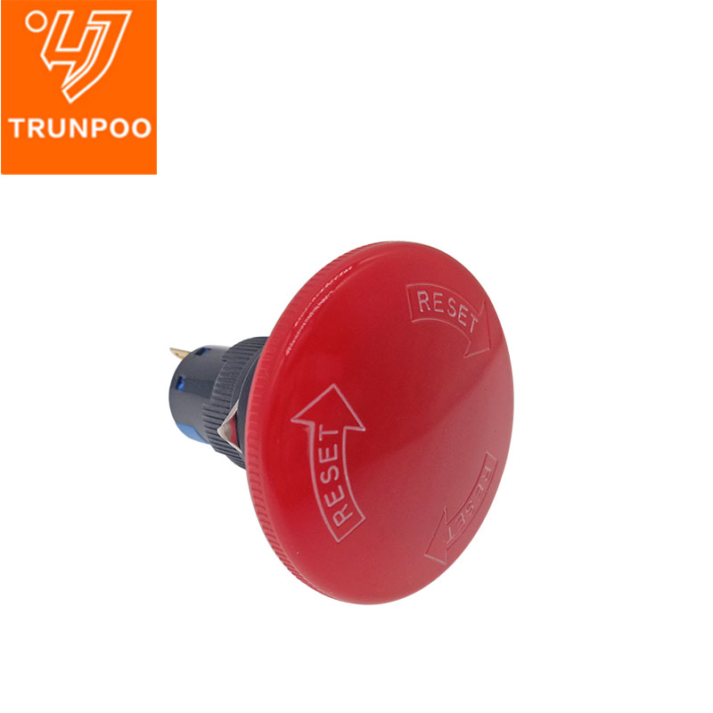 K16-811MBig mushroom head emergency stop button switch